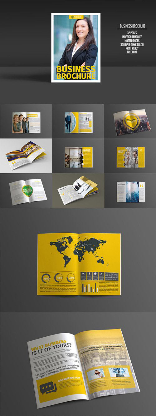 Business Brochure 32 Pages