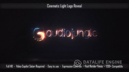 Cinematic Light Logo Reveal - Project for After Effects (Videohive)