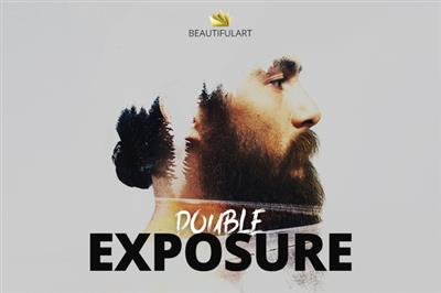 CreativeMarket -- Pro DOUBLE EXPOSURE Action