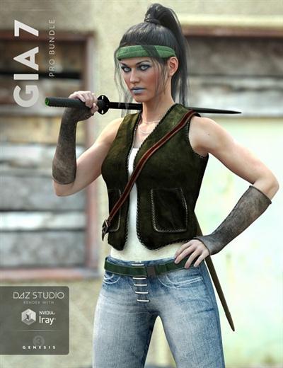 Daz 3D: Gia 7 Pro Bundle
