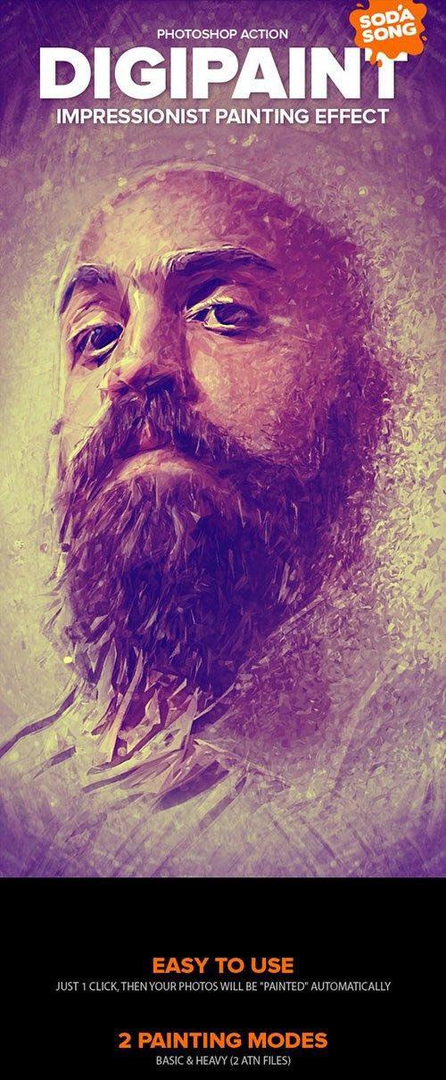 DigiPaint - Impressionist Painting Effect
