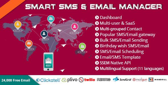 Smart SMS & Email Manager (SSEM)