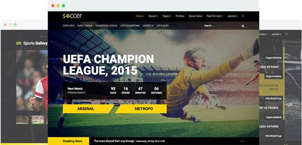 Soccer v1.4 - Joomshaper Sport Team Clubs Joomla Template