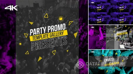 Party Promo 16882692 - Project for After Effects (Videohive)