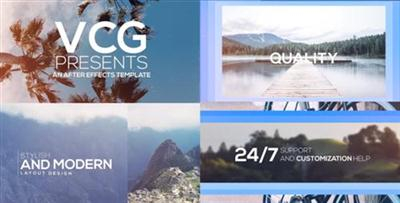 Sliding Titles Opener - Project for After Effects (Videohive)