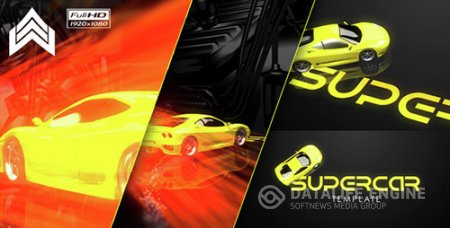 Supercar Logo - Project for After Effects (Videohive)