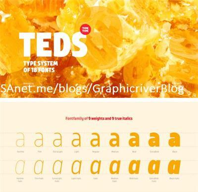TT Teds Font Family