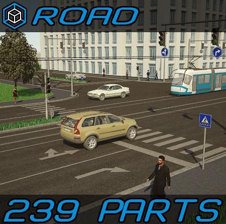 Turbosquid: 3D Road Elements Pack