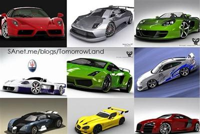 3D Models - Car Collection