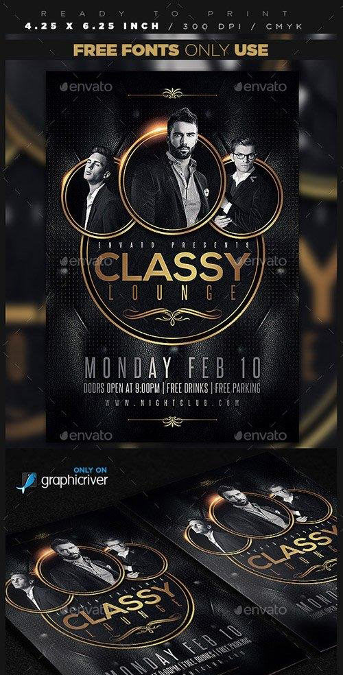 Classy Lounge Party Flyer
