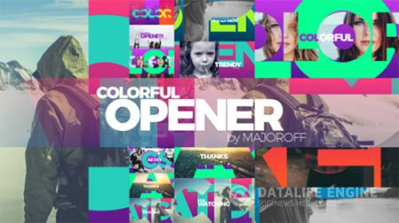 Colorful Opener 17049894 - Project for After Effects (Videohive)
