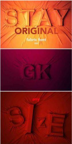 CreativeMarket - Fabric Font