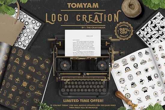 Creativemarket - Logo Creation Kit