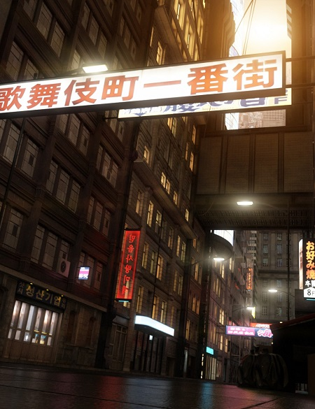 Daz 3D : Cyberpunk City - Fbx