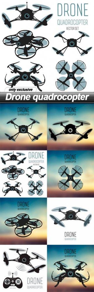 Drone quadrocopter