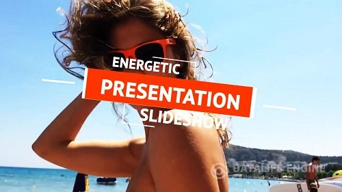 Energetic Slideshow  - After Effects Template