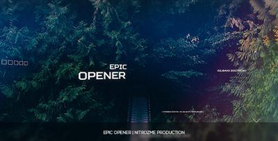 Epic Opener - Project for After Effects (VideoHive)