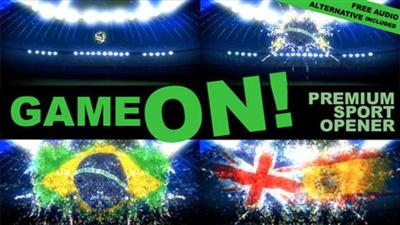 Game On! Sport Opener - Project for After Effects (Videohive)