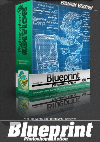 GraphicRiver - Blueprint Photoshop Action - Photographers Edition