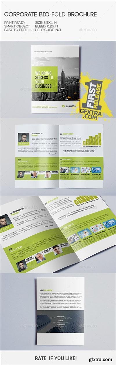 GraphicRiver - Corporate Bi-Fold Brochure 10355226