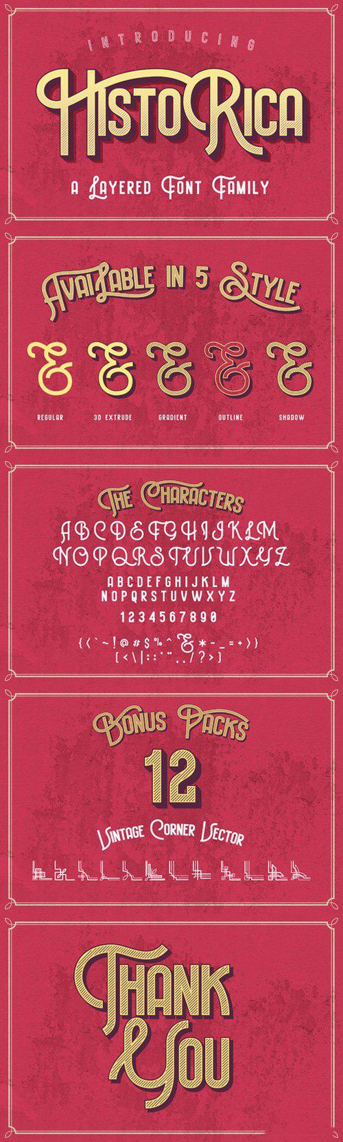 Historica Typeface