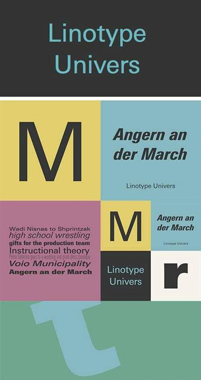 Linotype Univers Font Family