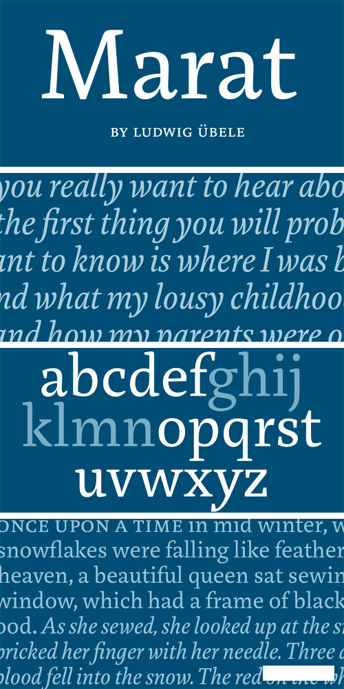 Marat Font Family
