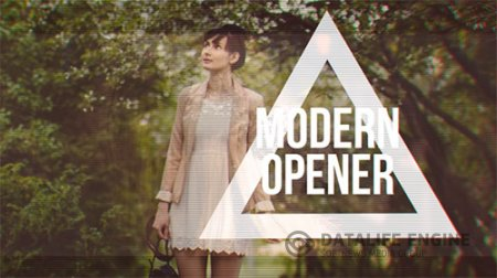 Modern Fashion Opener // Fast Glitch Slideshow - Project for After Effects (Videohive)