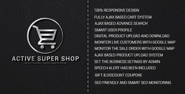Active Super Shop Multi-vendor CMS v1.3
