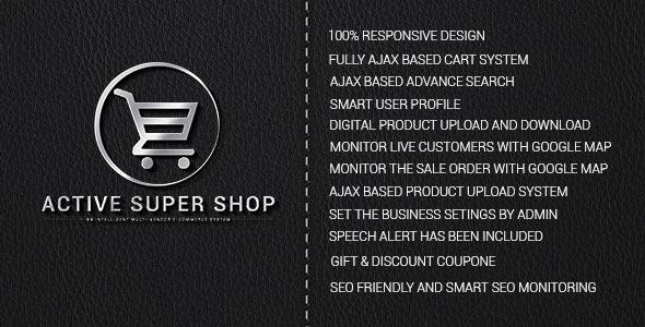 Active Super Shop Multi-vendor CMS v1.3