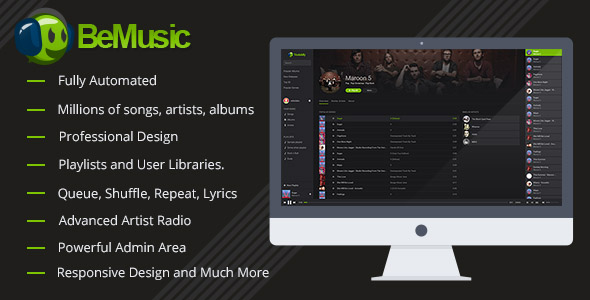 BeMusic v2.0.3 - Music Streaming Engine