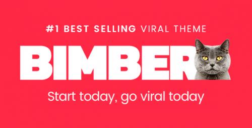 Nulled Bimber v2.0.3 - Viral & Buzz WordPress Theme graphic