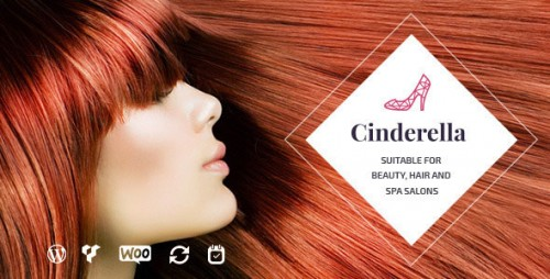 Nulled Cinderella v1.5.1 - Theme for Beauty, Hair and SPA Salons photo