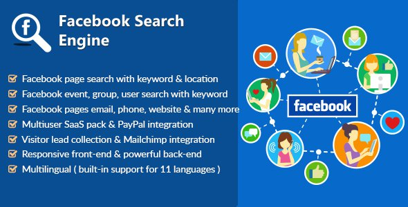Facebook Search Engine – Lead Collector & SaaS