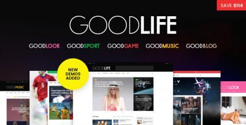 Nulled GoodLife v1.2.0 - Responsive Magazine Theme product photo