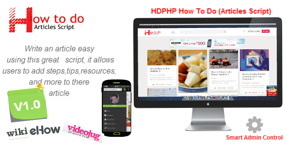 HDPHP How To Do (Wikihow Script) - Sharing Site