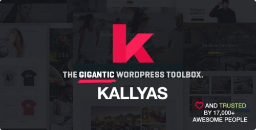 Nulled KALLYAS v4.1.6.1 - Responsive Multi-Purpose WordPress Theme visual