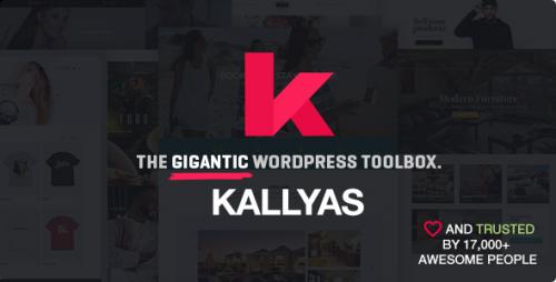 Nulled KALLYAS v4.1.6.1 - Responsive Multi-Purpose WordPress Theme visual