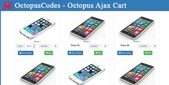 Octopus Ajax Cart