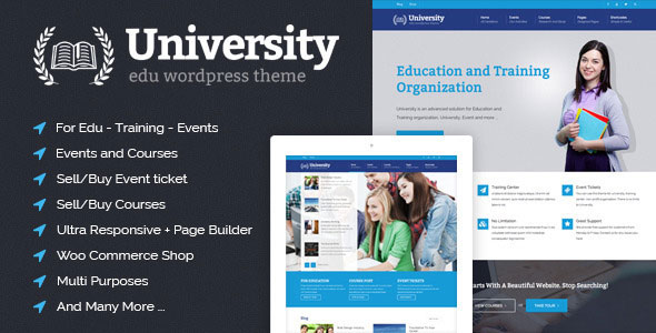 Nulled University v2.0.15 - Education, Event and Course Theme