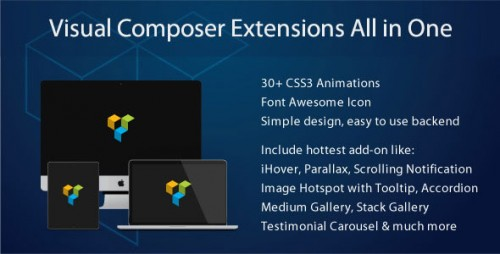 Nulled Visual Composer Extensions All In One v3.4.8.2 - WordPress Plugin Product visual