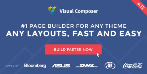 Nulled Visual Composer v4.12 - Page Builder for WordPress product cover