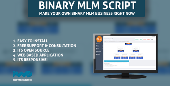 Web Based Binary MLM System