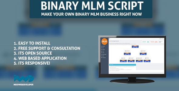 Web Based Binary MLM System