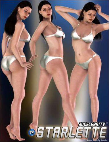 POSER - 3D Celebrity Starlette