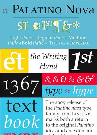 Palatino Nova W1G Font Family
