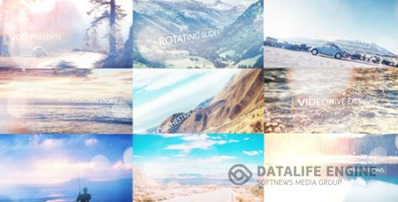 Rotating Slides 17282693 - Project for After Effects (Videohive)