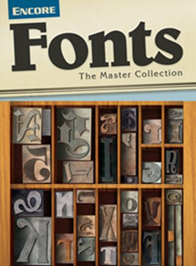 Serif Encore Fonts - The Master Collection