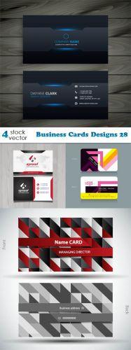 Vectors - Business Cards Designs 28