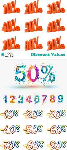 Vectors - Discount Values